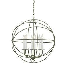 jvi designs 6 light globe chandelier