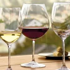 riedel vivant 4pc pinot noir glass set 24 7oz riedel veritas new world pinot noir nebbiolo crystal wine glasses