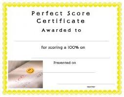 free perfect attendance certificate certificate template for kids free printable cert ificate templates