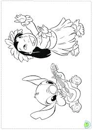 Lilo And Stitch Coloring Sheets Naruseiya Net Coloring Pages For