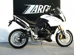 zard exhaust triumph tiger 1050 high mounted stainless steel
