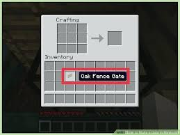 how to make a fence in minecraft wissitorg