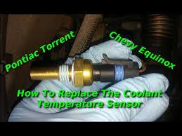 replace coolant temperature sensor on torrent or equinox replace coolant temperature sensor on torrent or equinox