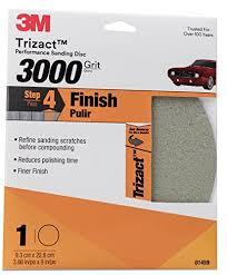 3m 3000 Trizact Grit Foam Finishing Disc 3 66in Po 1 Sheet