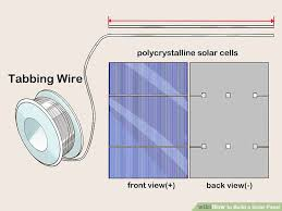how to build a solar panel (with pictures) wikihow solar panel wiring diagram pdf image titled build a solar panel step 3