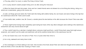 diary of anne frank essay the diary of anne frank essay