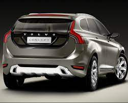 Volvo Concept Car Back View