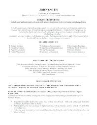 Registered Nurse Resume Templates Free Nursing Resume Template ...