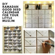 Diy Ramadan Good Deed Calendar For Your Little Muslim