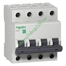 Купить Автоматический <b>выключатель Schneider Electric</b> EASY 9 ...