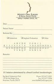 dental referral form template referral form riverview fl moffett oral surgery dental implant center