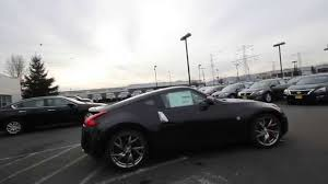 nissan 350z 2015 black. 2015 nissan 370z sport black cherry metallic fm442301 kent tacoma youtube 350z s