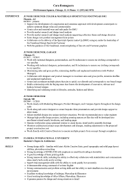 Entry Level Graphic Design Jobs In Phoenix Az Junior Designer Resume Samples Velvet Jobs
