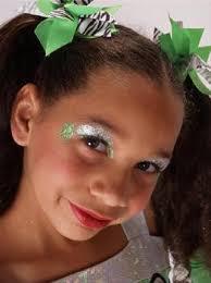 cheer makeup bling spirit glitter