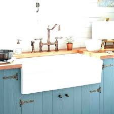 24 inch farmhouse sink throughout reversible offset double bowl designs 0 fireclay