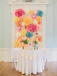 Tissue Paper Flower Decor 15 Ways To Use Paper Flowers At Your Wedding
