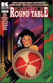 knight s round table 1 b comic book