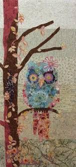 26 best Owl Quilt Patterns images on Pinterest | Owl quilt pattern ... & Fiberworks Laura Heine Collage Cora Common Owl Quilt Pattern 21 x 45 by  PrivateSourceQuiltin on Etsy Adamdwight.com
