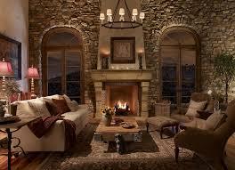 image of stone fireplace ideas decor