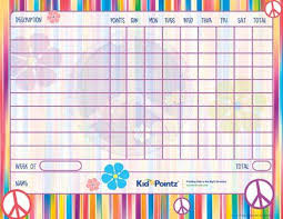Free Printable Behavior Charts Improves Behavior Kid Pointz