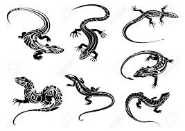 ящерица рисунок поиск в Google рисунки ящерица тату ящерицы и
