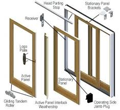 anderson french door parts series gliding patio door andersen window french door parts