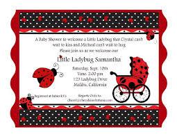Ladybug Invitations Template Free 43 Ladybug Invitations Little Ladybug Baby Shower