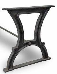 cast iron table base. Industrial Cast Iron Dining Table Base - Style 8 O