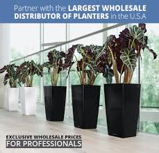 office flower pots. Partner With The Largest Wholesale Distributor Of Planters In USA Office Flower Pots A