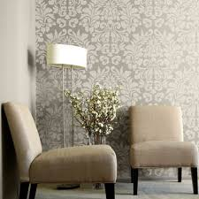 paint wall a metallic silver and do