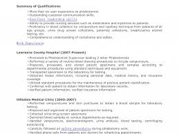 Phlebotomist Resume Examples Best Phlebotomy Resume Examples For New Grads Pictures Inspiration 48
