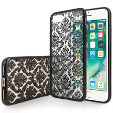 damask office accessories. YouSave Accessories IPhone 7 Hard Case - Damask Black Office E