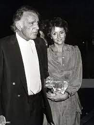 Richard Burton and Sally Hays during Dinner After a Performance of... News  Photo - Getty Images