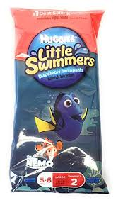 Amazon Com Huggies Finding Dory Little Swimmers Disposable