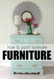 spray painted furniture ideas. How To Paint Laminate Furniture In 3 Easy Steps! Spray Painted Ideas W