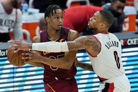 Trail Blazers rout Cavaliers 141-105