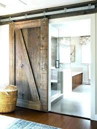 Bathroom Barn Door Ideas Interior Sliding Barn Doors For Bathroom Sliding  Bathroom Doors Interior Sliding Door .