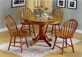 oak round dining table round oak pedestal kitchen dining table set small kitchen table and chairs