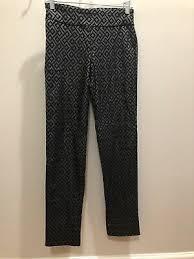 Krazy Larry Women Black Casual Pants 4 25 99 Picclick