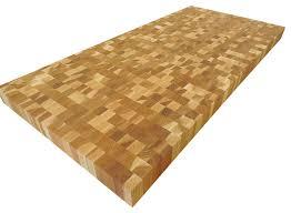 end grain hickory butcher block countertop