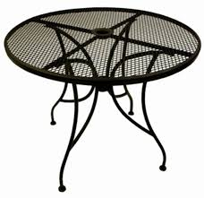 round metal patio dining table red wrought iron patio furniture beautiful oval outdoor coffee table