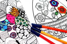 Small Picture Easter Coloring Pages for Grown Ups Red Ted Arts Blog