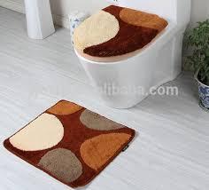 plain fresh 3 piece bathroom rug sets decorate of 3 piece bathroom rug sets for