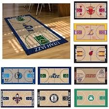 details about nba teams 29 5 x 54 large basketball court runner area rug mat