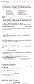 Gallery Of Pharmaceutical Sales Rep Resume Pharma Medical Device
