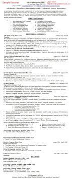Gallery Of Pharmaceutical Sales Rep Resume Pharma Medical Device