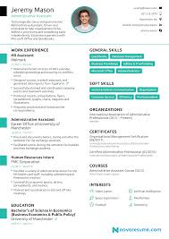 Administrative Resume Template 2019 Free Microsoft Word