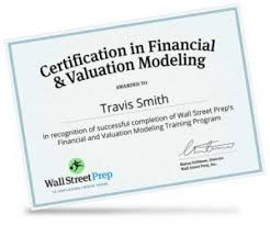 Why is certification important? Wall Street Prep's ...
