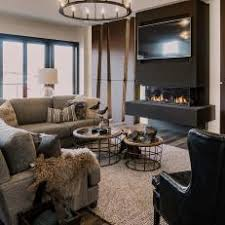 Homely Contemporary Nil Maintenance The Modern Family Dream Floating Fireplace