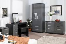 black and grey bedroom furniture. bedroom furniture sets high gloss grey on black wardrobe chest bedside drawers black and grey bedroom furniture l